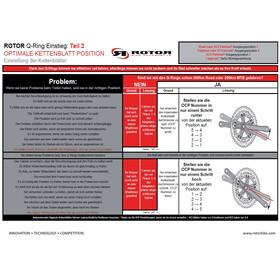 Rotor Q-Rings 110 BCD Aero Road Kettenblatt Set 50/36